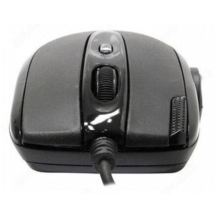 Мышь A4-Tech X-710BK USB (черный) 6 кн 1 кл-кн 2000 dpi