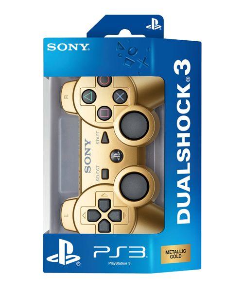 туда же идет и золотой геймпад DualShock 3, который выйдет уже в этом месяц
