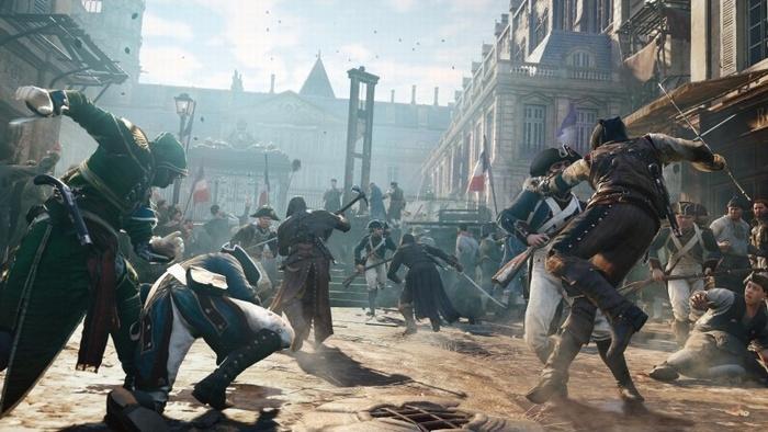 Новость: В Assassin's Creed: Unity будет сцена с участием 10 тысяч чел